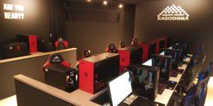 esports studio KAGOSHIMA内観